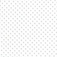 Keepsake Calico Fabric- Metallic Dot White