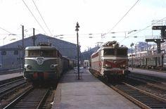 Gare De Nord station in Paris, France, fot. Lindsay Bridge (1970s)