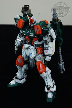 GUNDAM GUY: MG 1/100 GAT-X103 Buster Gundam - Painted Build