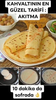 You should definitely try this recipe that will add flavor to your breakfast tables. Pancakes are known as pouring, it is enough for breakfast. breakfast Pancake Recipe, How To (Description of the Stream) yemeknet yemeknet Yemek Tarifleri: Kolay, P Fun Easy Recipes, Fish Recipes, Seafood Recipes, Vegetarian Recipes, Easy Meals, Breakfast Pancakes, Breakfast Tables, Roasted Turkey, Fish Dishes