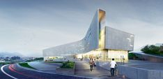 Architectural bureau A.Len - Project - Sports Complex Project for the Daegu-gun Region, Daegu city, South Korea