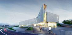 Architectural bureau A.Len - Project - Sports Complex Project for the Daegu-gun Region, Daegu city, South Korea