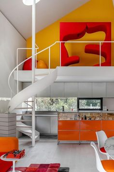 Colorful Interiors, Ben Richards, Interior Inspiration, Dining Table, Vice President, Interior Design, Bed, Tokyo, Japan