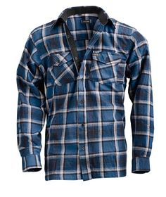 Klicka för större bild - Fritidsskjortor -  7 olika mönster sköna flanellskjortor.   #itab #idefix #teko #kläder #jakt #fiske#outdoor #vildmark #hiking #brapris #kvalitet #slitstark #skjorta #itabkläder