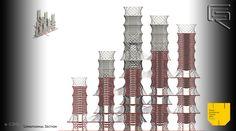 Bamboo Skyscraper 8 • Materia