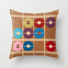 Cooper Alchemy Throw Pillow cover by Ramon Martinez Jr - $20.00