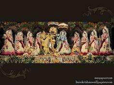 http://harekrishnawallpapers.com/sri-radha-madhava-with-asta-sakhi-wallpaper-005/