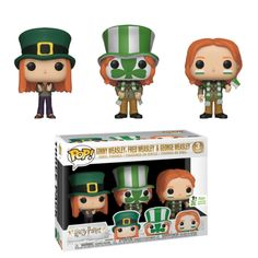 Pack de three collectible figurines Funko Pop TV Harry Potter Ginny Weasley, Fred Weasley et George Weasley – Petite figurine – Achat & prix Harry Potter Quidditch, Objet Harry Potter, Cadeau Harry Potter, Ginny Weasley, Images Harry Potter, Harry Potter Memes, Funko Pop Harry Potter, Harry Potter Pop Figures, Harry Potter Products
