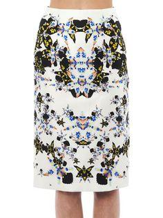 JOSH GOOT, Morph-Print Pencil Skirt, $690
