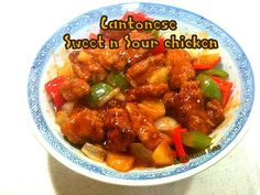 Cantonese Sweet and Sour Chicken - Lovefoodies hanging out! Tease your taste buds!