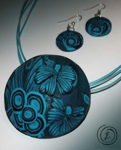 Washer Necklace, Jewerly, Polymer Clay, Fashion, Moda, Jewelery, Fashion Styles, Jewelry, Jewels