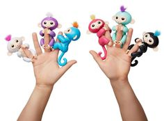 BACK IN STOCK !! 6 Color- Smart Fingerling Interactive Baby Monkey Toy - FREE SHIPPING ONLY UNTIL THE END OF SEPTEMBER!!