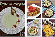 10 rețete cu conopidă pentru toate gusturile Cauliflower Recipes, Waffles, Deserts, Tacos, Keto, Breakfast, Healthy, Ethnic Recipes, Food
