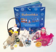Babushka  Conjure up the feelings, smells and sounds of Christmas with the exciting sensory-rich treasures that accompany this unusual Russian story about giving