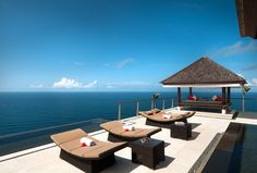 The Edge Villa, Uluwatu, Indonesia (via The Edge Villa : Daily Escape : Travel Channel) Villa Pool, Villa With Private Pool, Beach Villa, Hotels And Resorts, Best Hotels, Bali Getaway, Online Travel Agent, Travel Channel, Luxury Holidays