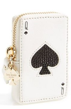 Kate Spade New York Kate Spade 'place Your Bets' Card Coin Purse, You've got to play the hand you're dealt, so why not deal yourself a nice hand? This card-style zip pouch is a cute and convenient carry option for coins and small essentials. Kelly Bag, Sacs Design, Cute Purses, Cheap Purses, Mk Bags, Valentino Rockstud, Punk Princess, Cute Bags, Purses And Handbags