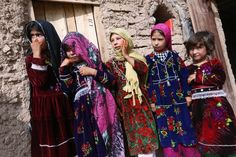 Jul 18-24, 2015  Internally displaced Afghan girls outside their shelter at a camp on the outskirts of Herat, Afghanistan. JALIL REZAYEE/EUROPEAN PRESSPHOTO AGENCY