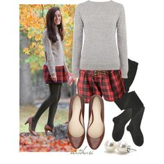 """""""Pinterest Look: Plaid and green Outfit"""" by natihasi on Polyvore"""