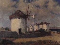 Γιαννουκάκης Δημήτρης – Dimitris Giannoukakis [1898-1991] | paletaart – Χρώμα & Φώς