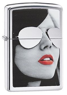 Zippo Sunglasses Pocket Lighter High Polish Chrome * Want to know more, click on the image.