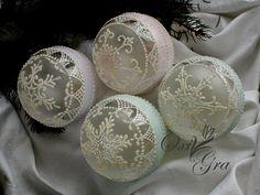 www.polandhandmade #OxiGra #bombki #ornamenty #recznie #malowane