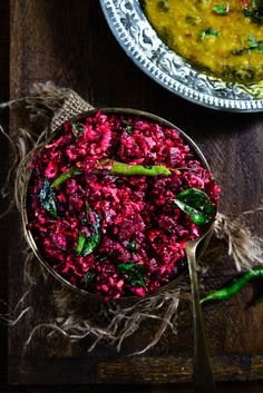 Beetroot Poriyal is a healthy and delicious beetroot stir fry with fresh coconut. It can be enjoyed with rice and Sambhar.