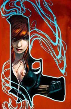 Black Widow by Stephanie Hans *