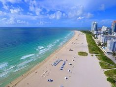 Miami Beach, connected by bridges to #mainland Miami, is a #resort city on a…