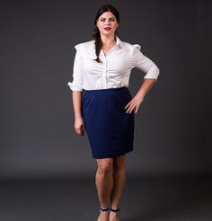 The perfect skirt for the office is here by Yona New York