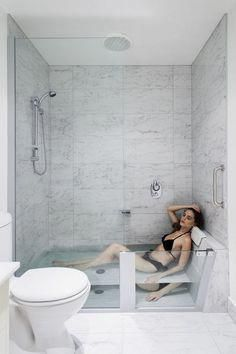 tub shower combo ideas: Tiny Bathroom Tub Shower Combo Remodeling Ideas Bathrooms Cool Stand Small Bathtub Over Bath Corner Walk One Piece Soaking Surround And Stalls Jetted ~ extremicure Bathroom Tub Shower, Tub Shower Combo, Bathroom Closet, Tiny House Bathroom, Bathroom Design Small, Bathroom Layout, Bathroom Interior Design, Bathroom Ideas, Bath Tub