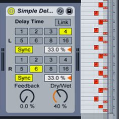 Live: Creating Triplet Style Beats With Simple Delay