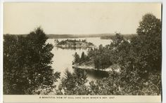 Vintage Photo of Gull Lake - Near Miner's Bay, Ontario