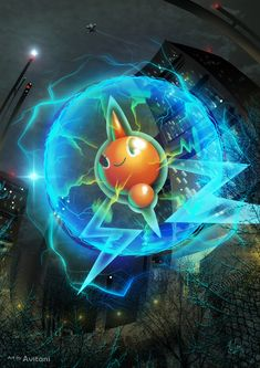 Rotom - the Plasma Pokemon by Avitani.deviantart.com on @DeviantArt