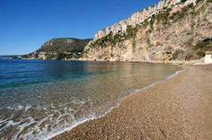 Cote dAzur secret beach linking to France Beaches Guide The Places Youll Go, Places To Go, Best Beaches In Europe, French Beach, Ravelry, Antibes France, Riviera Beach, Hidden Beach, World Pictures