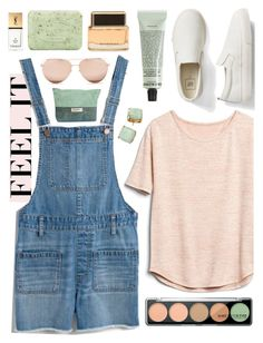 """""""Untitled #107"""" by brittany-phelps ❤ liked on Polyvore featuring Gap, Madewell, MAKE UP FOR EVER, Grown Alchemist, Pré de Provence, Givenchy, Yves Saint Laurent, Linda Farrow and Kate Spade"""