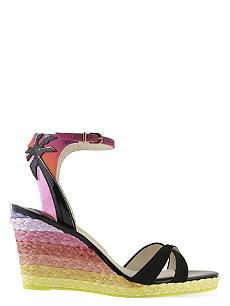 SOPHIA WEBSTER Lucita 90 wedge sandals