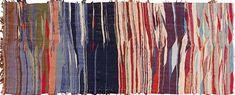Vintage Flat Woven Moroccan Kilim Rug