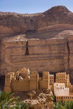Wadi Hadramaut . Wadi Do'an Yemen
