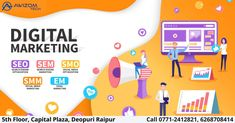 Looking for Top Digital Marketing Company? Awizom Tech Bytes provides result-oriented digital marketing (online marketing) services to grow the visibility of your brand to increase the business online. Online Marketing Services, Online Digital Marketing, Best Digital Marketing Company, Marketing Technology, Seo Marketing, Digital Marketing Strategy, Seo Services, Media Marketing, Marketing Training