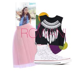 ROWAN by lowkeybrenny on Polyvore featuring polyvore fashion style WithChic Topshop Converse clothing