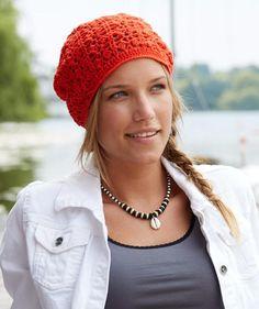 Lacy Crochet Hat, S9021 - Free Pattern