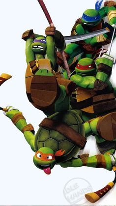 Leonardo, Raphael, Michelangelo and Donatello! Tmnt 2012, Gi Joe, Bd Comics, Tmnt Comics, Teenage Mutant Ninja Turtles, Ninja Turtle Toys, Fan Art, Michelangelo, Canvas Art