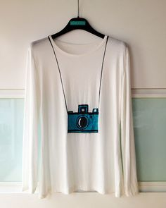 Un tee shirt DIY pour photographe