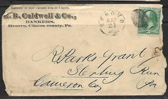 US Vintage 1 1875 -19th CENTURY COVER, # 158 - 3¢ Washington - green, SEP. 21