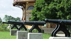 Patterson Park's seven cannons