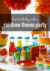 Un birthday party coloré