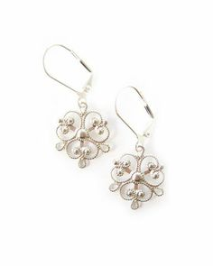 Filigree Earrings.