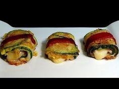 ▶ Calabacines rellenos de jamon y queso - YouTube