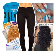 """"""" ✨ """" by purplequeen04 ❤ liked on Polyvore featuring Victoria's Secret and adidas"""