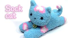 DIY crafts: Sock cat - Innova Crafts How to make a cute sock cat. It's very easy! ✂ MATERIALS: - Socks - Marker - Needle and thread - Scissors - Beads SUBSCR...